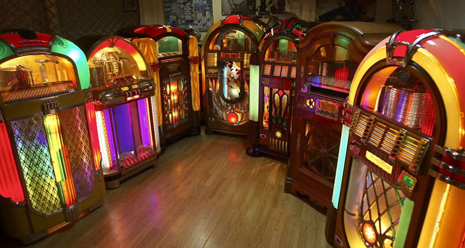 Vente de Jukebox ancien Wurlitzer, Seeburg, Ami, Rock Ola, OMT